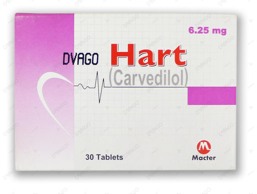 Hart Tablets 6.25mg 30's