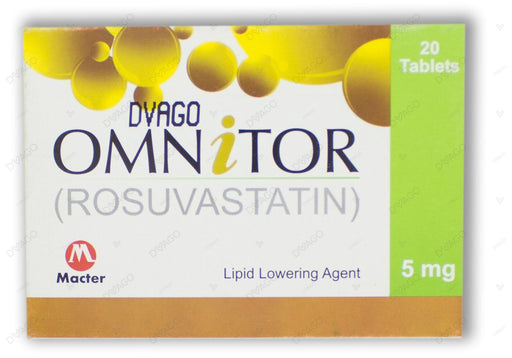 Omnitor Tablets 5mg 20's