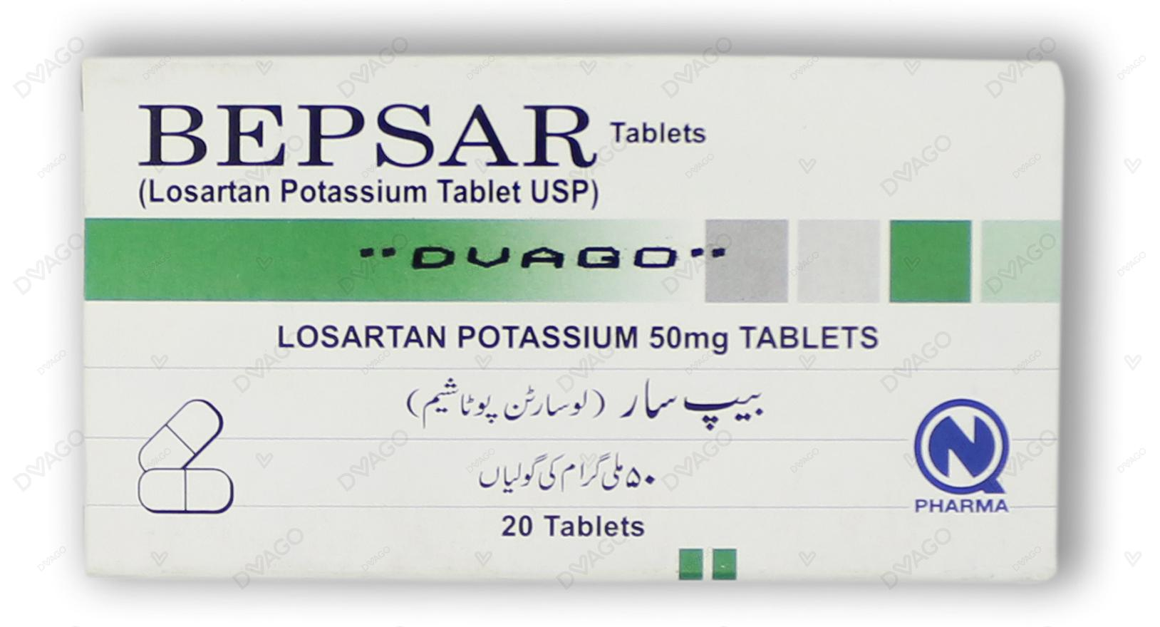 Bepsar Tablets 50mg 20's