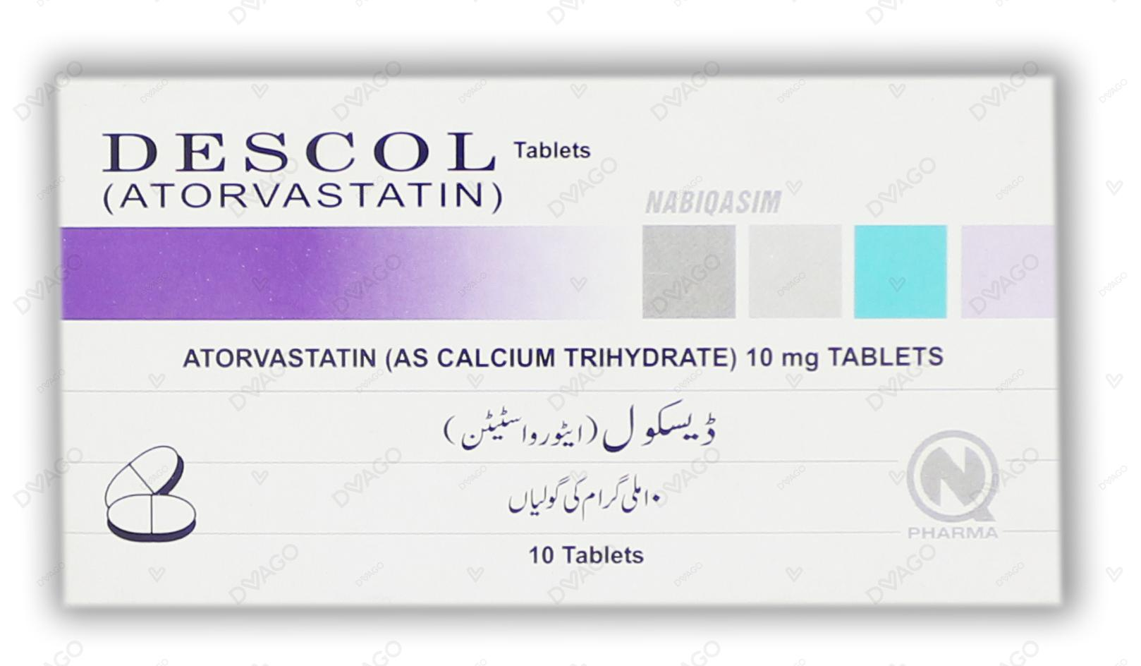 Descol Tablets 10mg 10's
