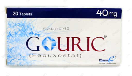 Gouric Tablets 40mg 20's