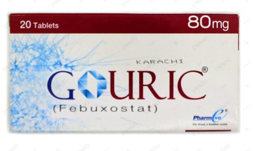 Gouric Tablets 80mg 20's