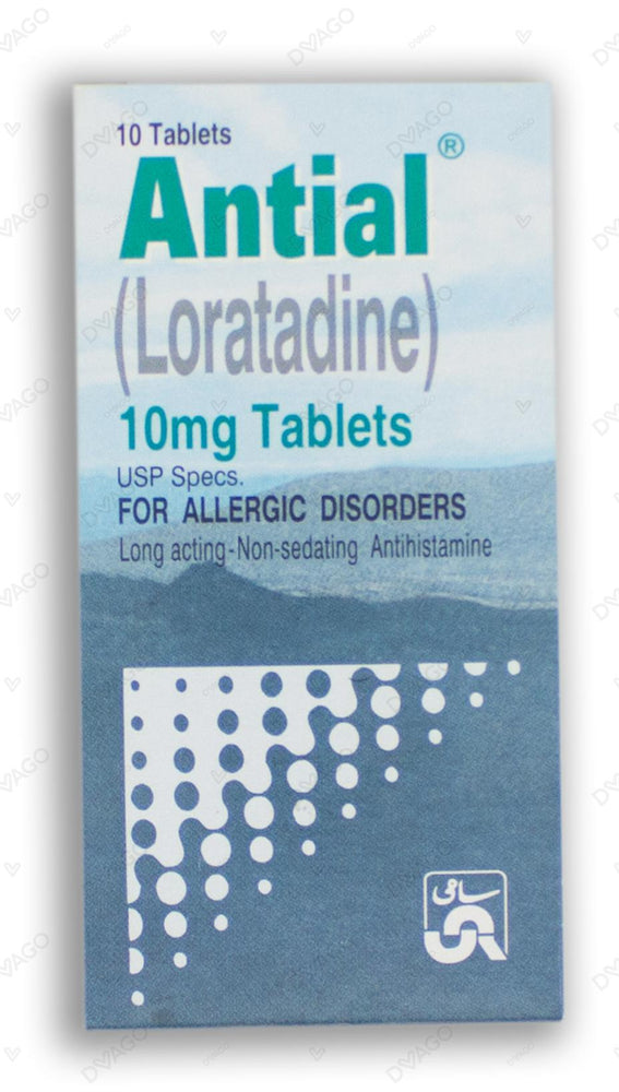 Antial Tablets 10mg 10's