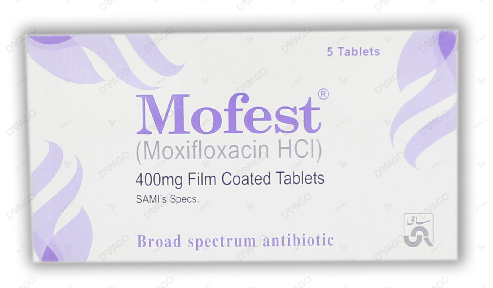 Mofest Tablets 400mg 5's