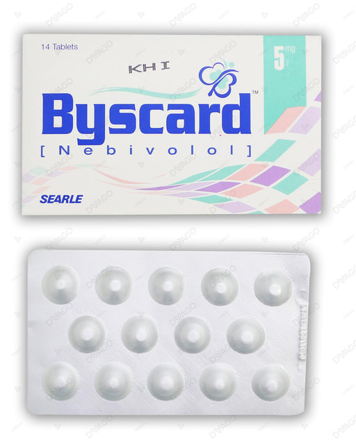 Byscard Tablets 5mg 14's