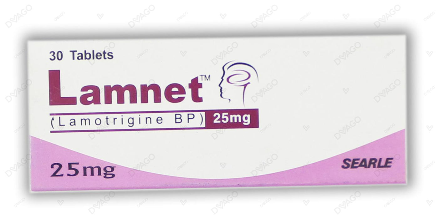 Lamnet Tablets 25mg 30's