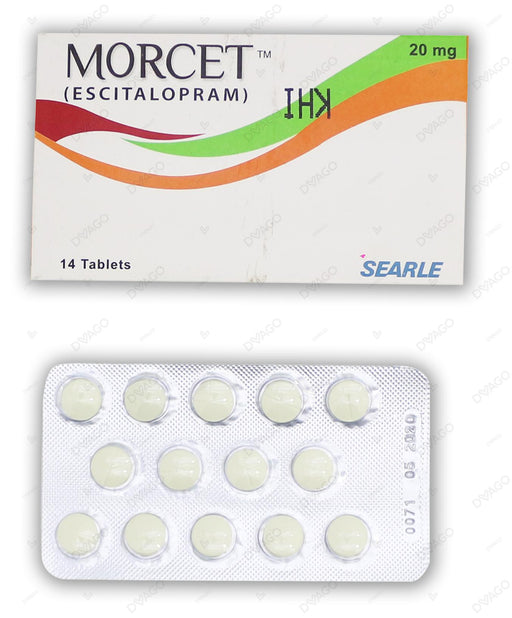 Morcet Tablets 20mg 14's