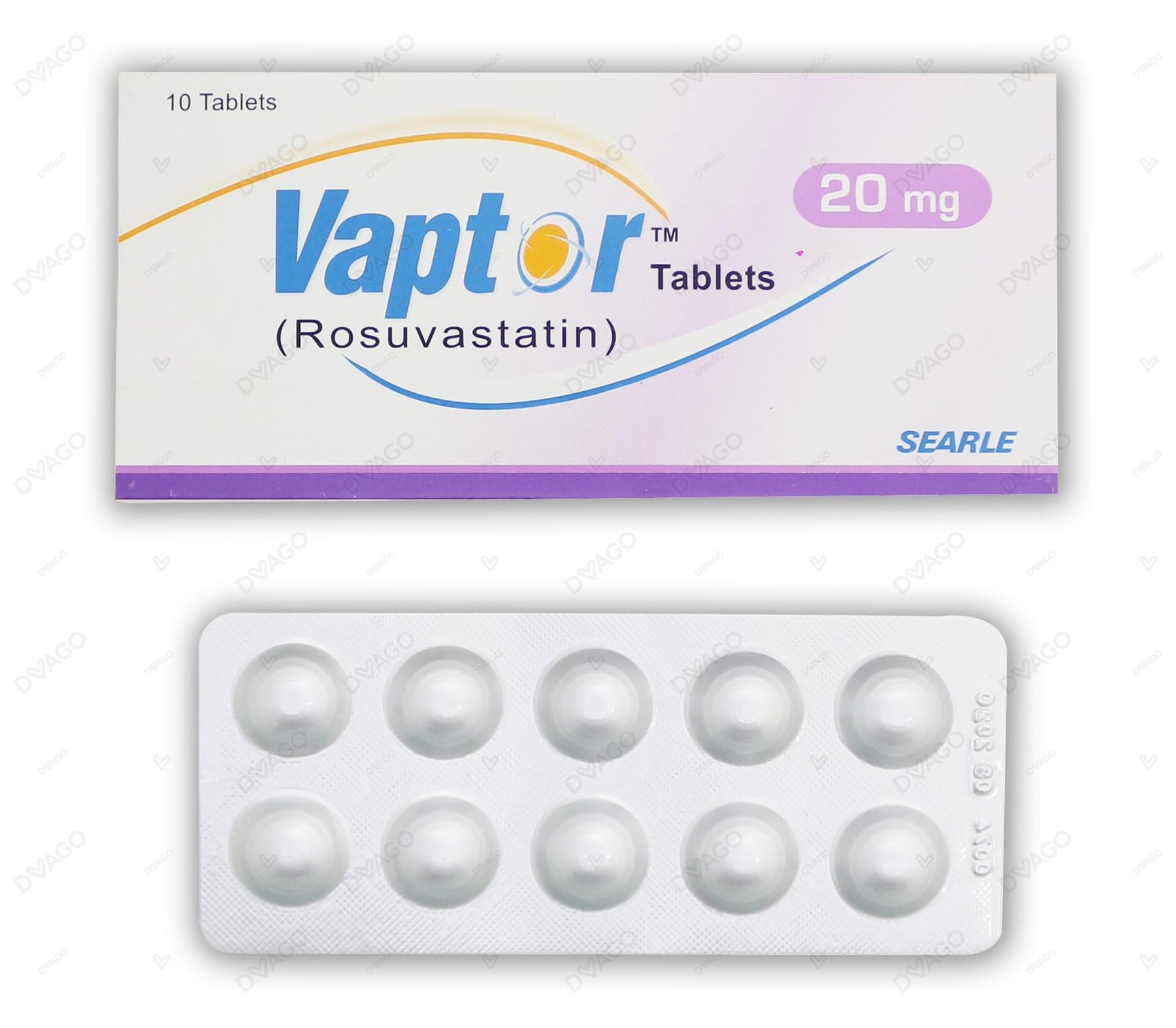 Vaptor Tablets 20mg 10's