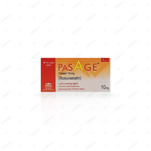 Pasage Tablets 10mg 10's
