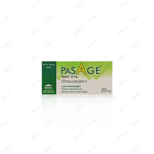 Pasage Tablets 20mg 10's