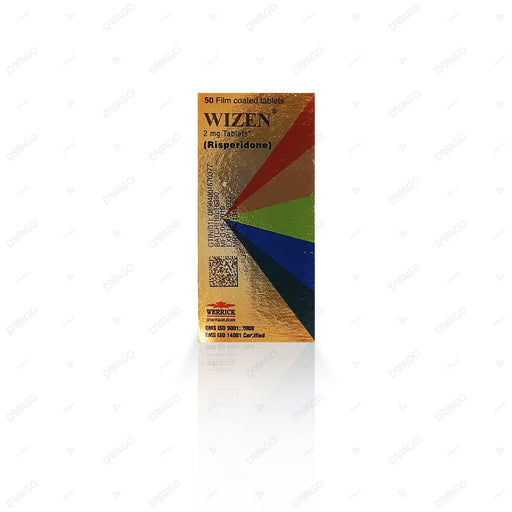 Wizen Tablets 2mg 5X10's
