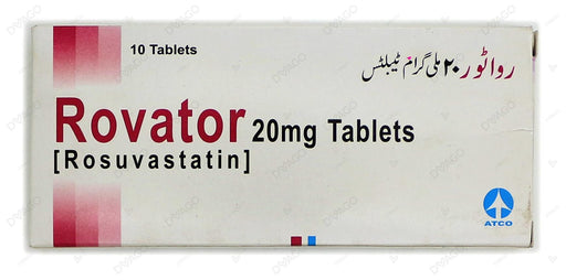 Rovator Tablets 20mg 10's