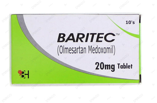 Baritec Tablets 20mg 10's