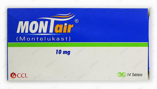 Montair Tablets 10mg 14's