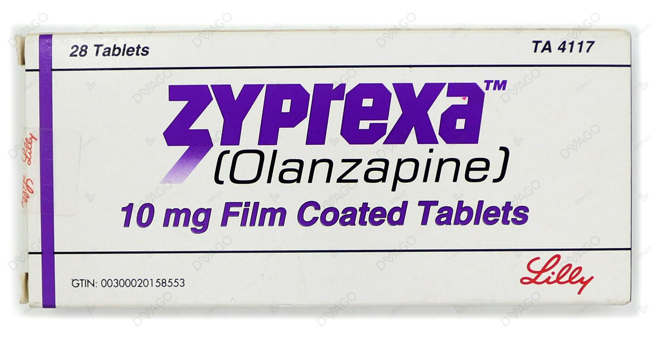 Zyprexa Tablets 10mg 28's