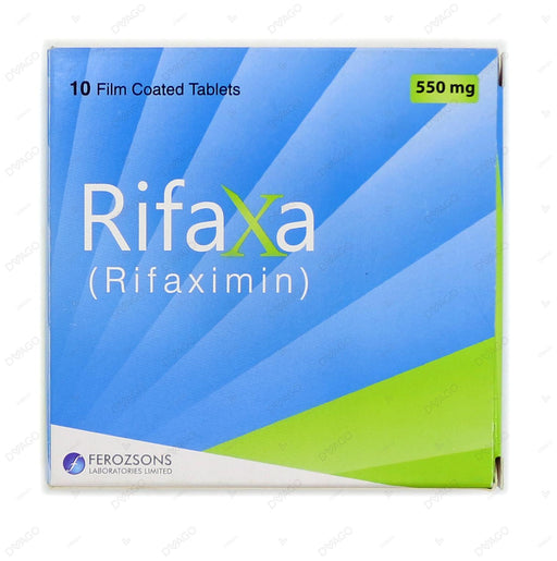 Rifaxa Tablets 550mg 10's