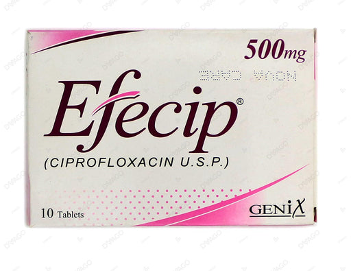 Efecip Tablets 500mg 10's