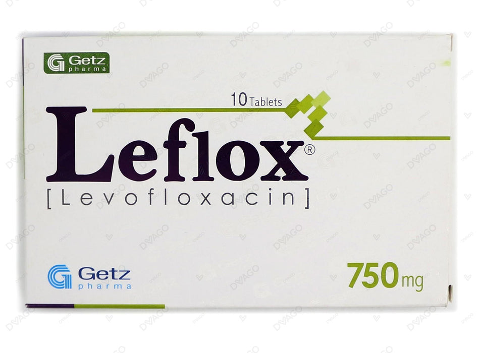 Leflox Tablets 750mg 10's