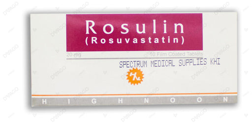 Rosulin Tablets 20mg 10's