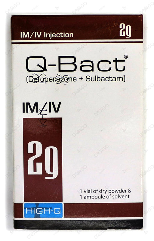 Q-Bact Injection 2g 1 Vial