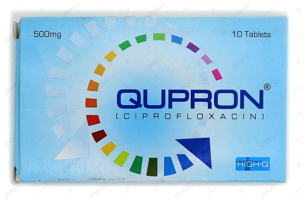 Qupron Tablets 500mg 10's