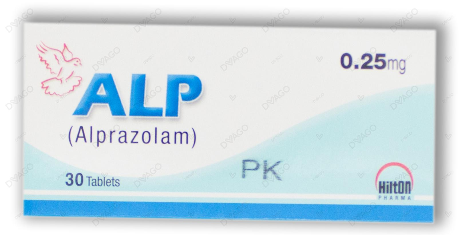 Alp Tablets 0.25mg 3X10's