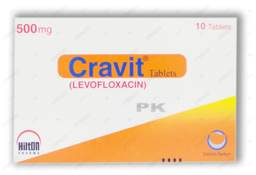 Cravit Tablets 500mg 10's