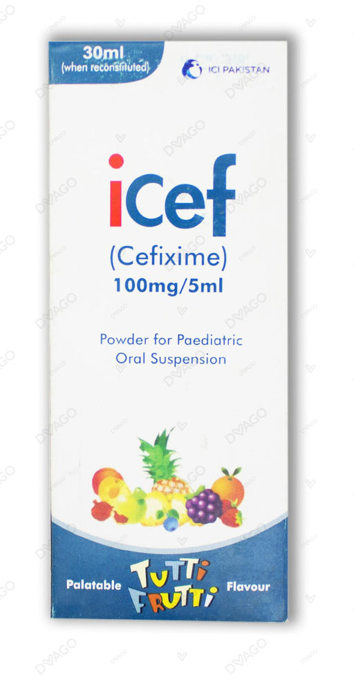 Icef Suspension 100mg 30ml
