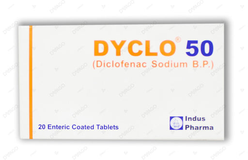 Dyclo Tablets 50mg 2X10's