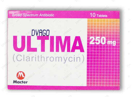Ultima Tablets 250mg 10's