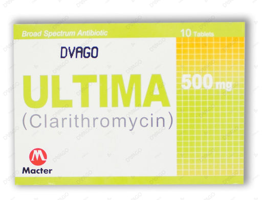 Ultima Tablets 500mg 10's