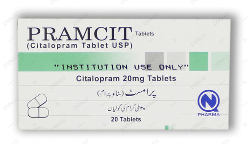 Pramcit Tablets 20mg 20's