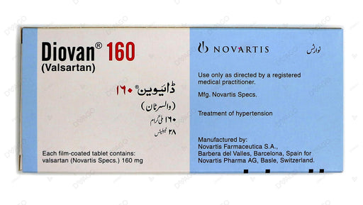 Diovan Tablets 160mg 28's
