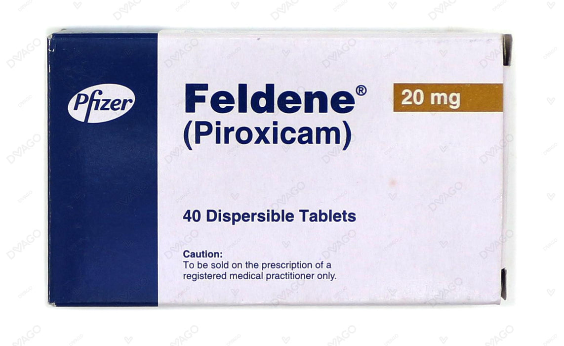 Feldene Tablets 20mg 40's