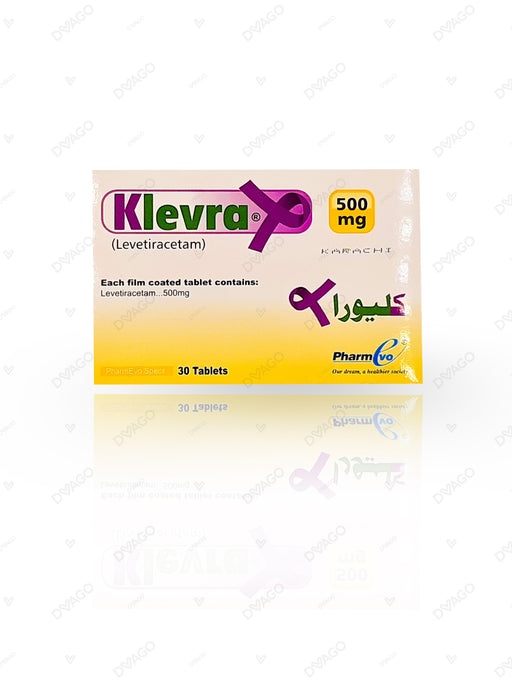 Klevra Tablets 500mg 30's