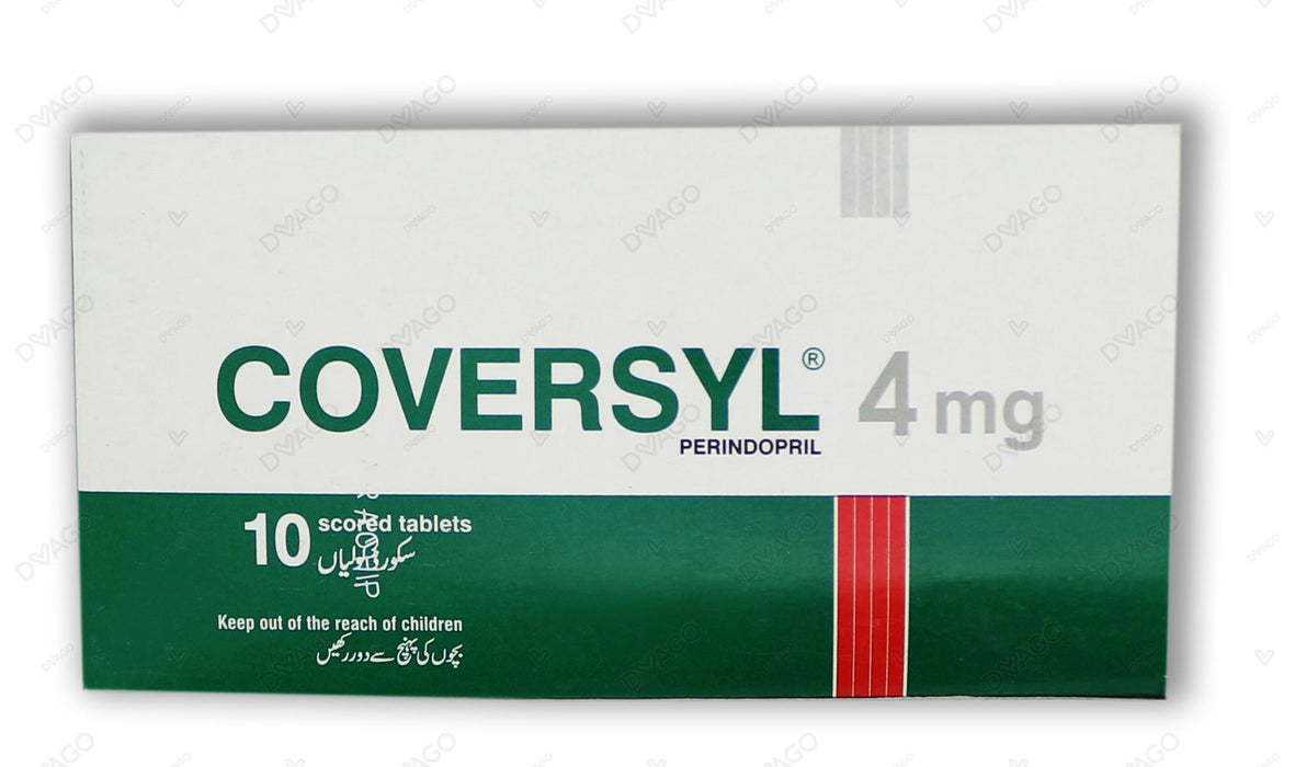 Coversyl Tablets 4mg 10's