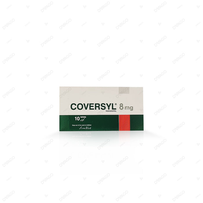 Coversyl Tablets 8mg 10's