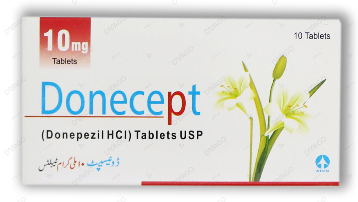 Donecept Tablets 10mg 10's