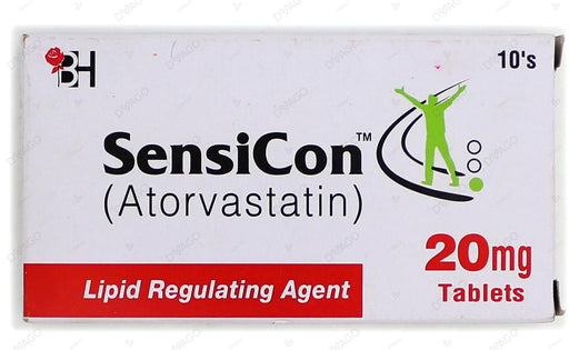 Sensicon Tablets 20mg 10's