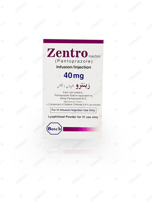 Zentro Injection 40mg 1 Vial