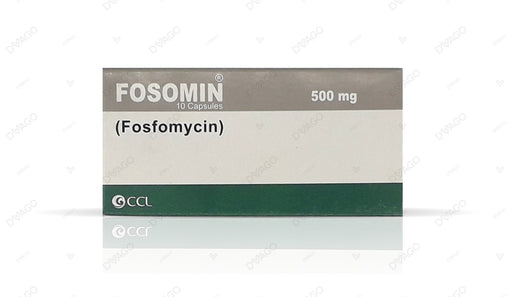 Fosomin Capsules 500mg 10's