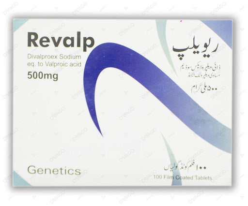 Revalp Tablets 500mg 100's