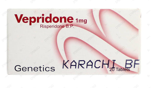 Vepridone Tablets 1mg 20's