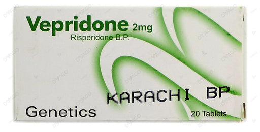Vepridone Tablets 2mg 20's