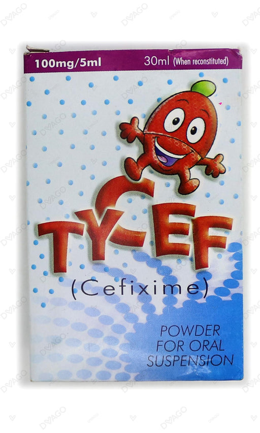 Tycef Suspension 100mg 30ml