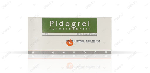 Pidogrel Tablets 75mg 10's