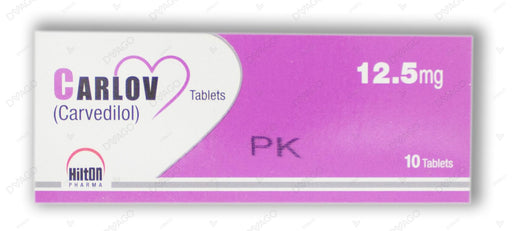 Carlov Tablets 12.5mg 10's