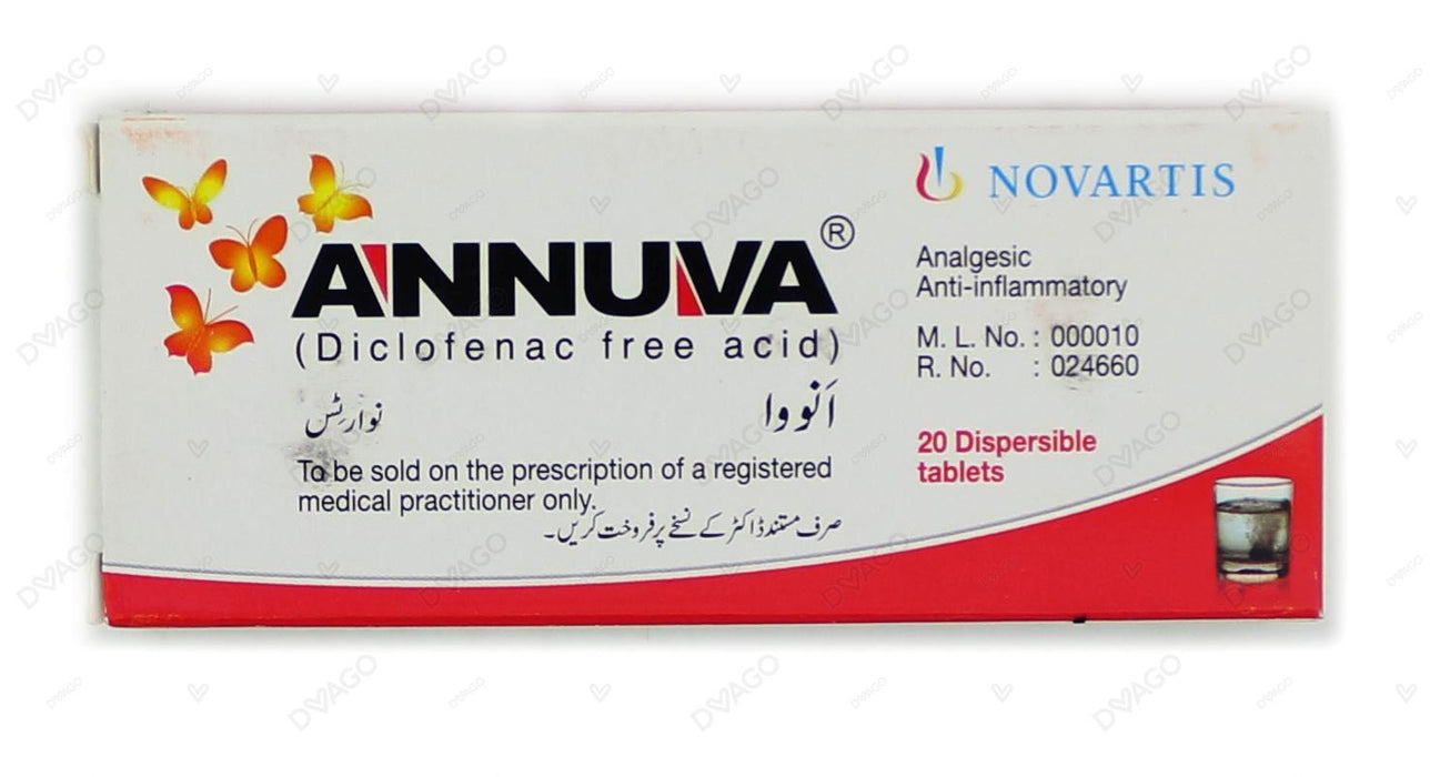 Annuva Tablets 50mg 2X10's