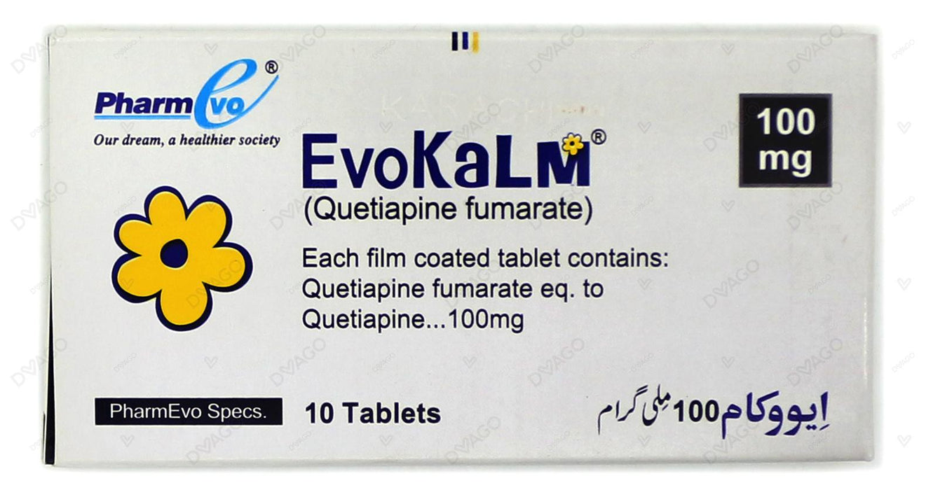 Evokalm Tablets 100mg 10's