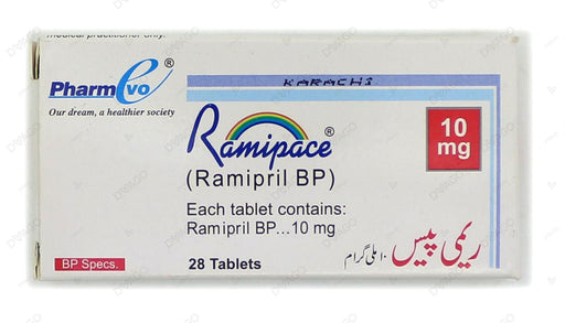 Ramipace Tablets 10mg 28's